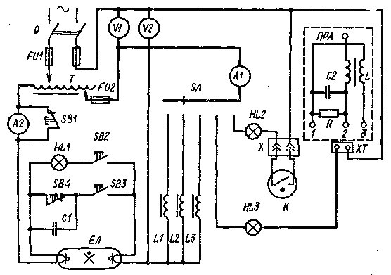 Рисунок 4 – Схема стенда для