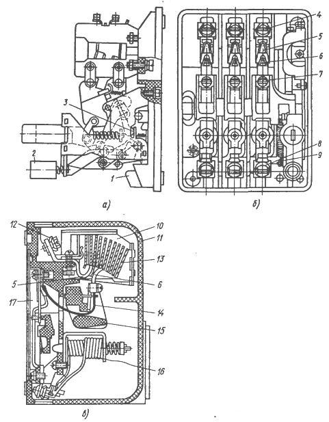 выключателя АП-50 (рисунок