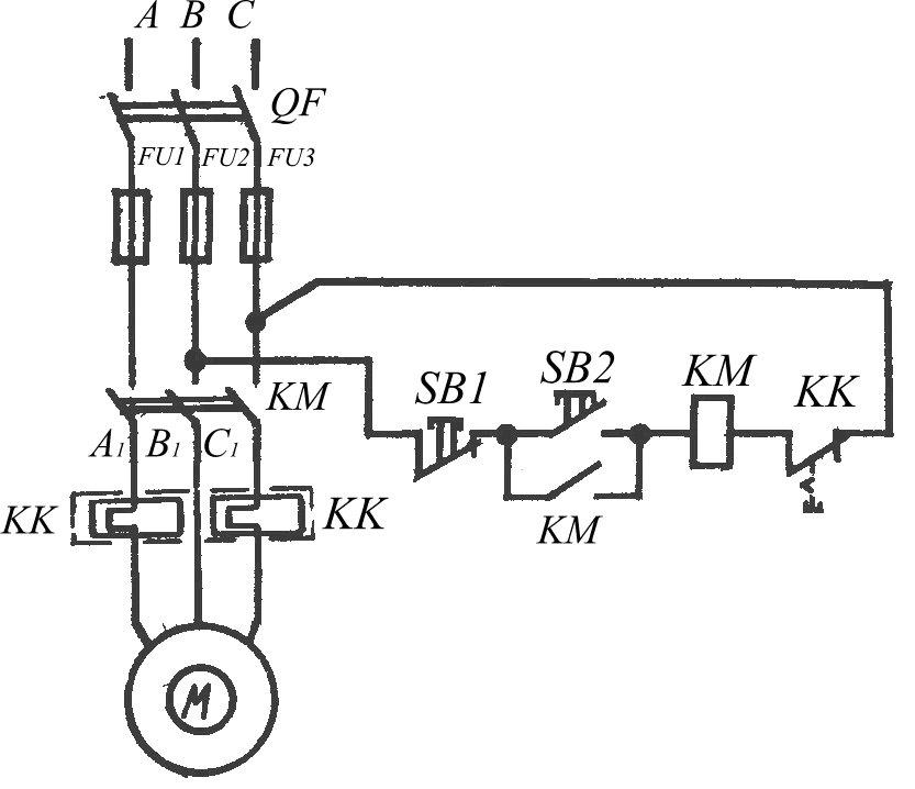 Рисунок 4 – Схема управления