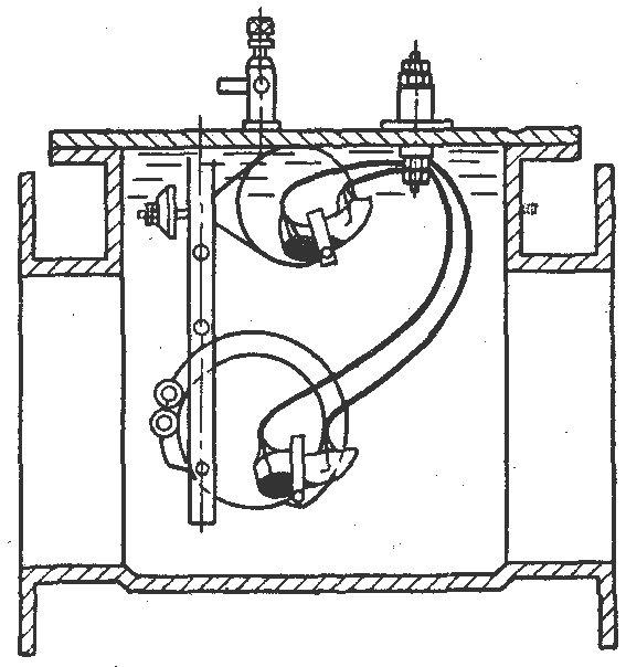 газового реле типа ПГ-22.