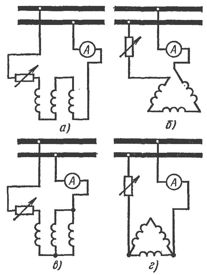 Рисунок 5 – Схемы для сушки