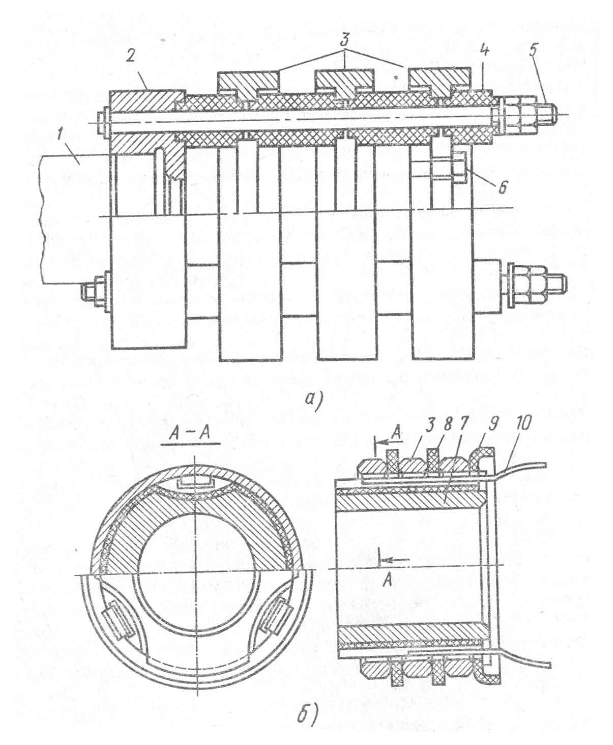 Ремонт контактных колец и коллектора электродвигателя Бесплатные  Рисунок