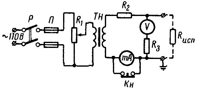 схемы вторичных цепей