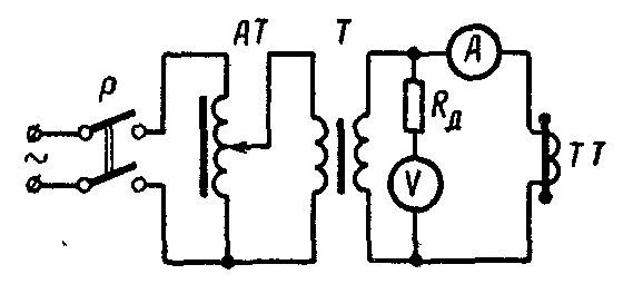 Рисунок 4 – Схема для снятия